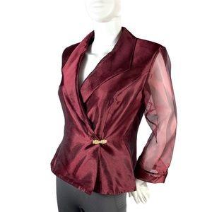 Alex Evenings Blazer Jacket Size L